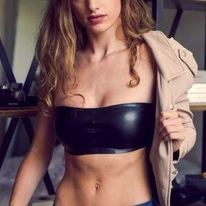Other - Faux Leather Bandeau